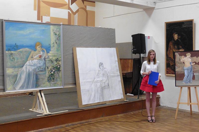 Ивановское художественное училище имени М И Малютина Защита  p1060545